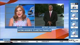 KATV Aretha Franklin Funeral