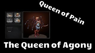 Omsk Dota, trade - The Queen of Agony set - Queen of Pain