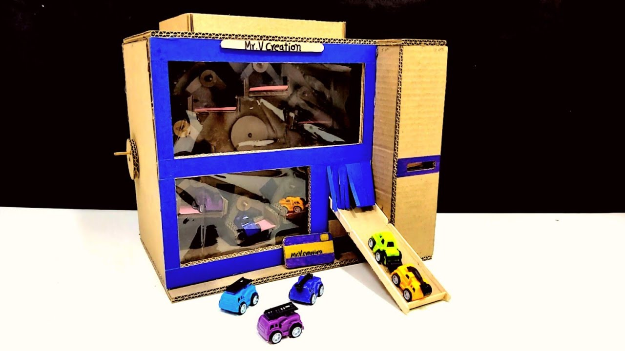 Download How to Make a Vending Machine for Toy Car