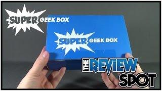 Subscription Spot - Super Geek Box November 2016 Subscription Box UNBOXING!