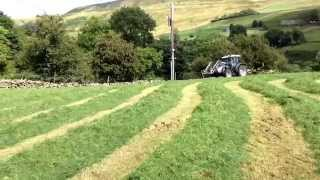 Yorkshire Dales Farming-Second Cut Silage 2014