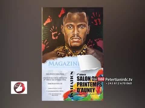 Vrai Journal du 14.05.2018: Un peintre Congolais Immortalise ROSSY MUENDI