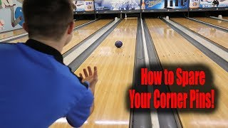 BOWLING - HOW TO SPARE YOUR CORNER PINS Video