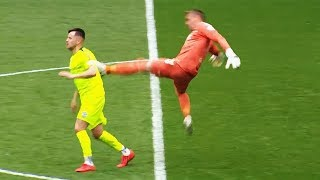 Shocking Goalkeeper Red Cards In Football