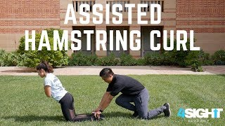 Exercise #7 - Assisted Hamstring Curl