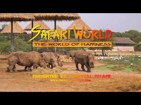 [HD] Safari World & Marine Park BANGKOK (2017)