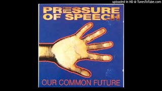 Pressure Of Speech - Tippex Reality