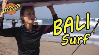 БАЛИ. Урок сёрфинга.