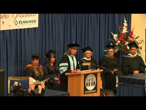 Clackamas Community College 2013 Graduation Ceremony (Certificate & Degree)