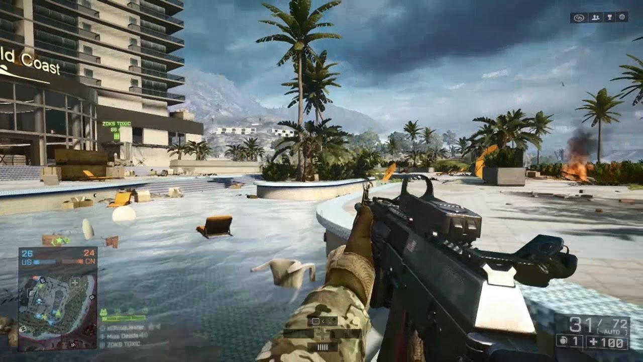 Battlefield 4 Xbox One Gameplay: Let's Play Battlefield 4 - YouTube
