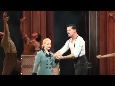 EVITA (Broadway) - And the Money Kept Rolling In (2012 Tony Awards)