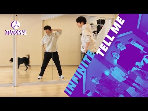 [TUTORIAL] INFINITE (인피니트) - Tell Me | Dance Tutorial by 2KSQUAD