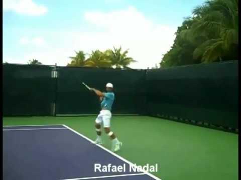 Video Học Chơi Tennis Federer Kỹ thuật Cú Thuận tay