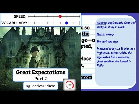 Learn English Through Story - Great Expectations, Part 2 subtitles, meanings and definitions Level 7