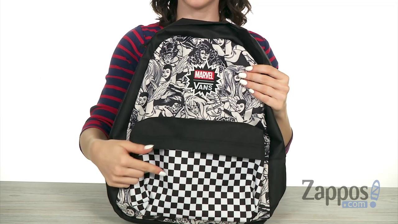 Vans Marvel® Women Realm Backpack SKU  9129854 - YouTube cbf0f04ead4d4