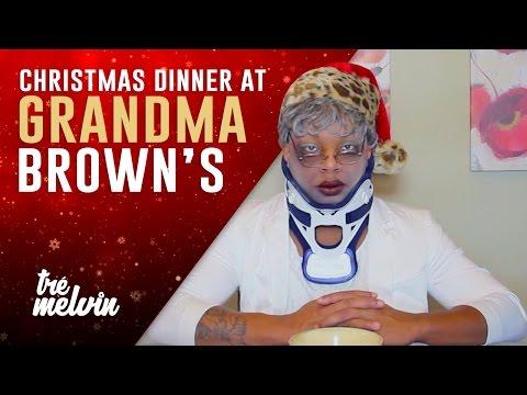 Christmas Dinner at Grandma Brown's