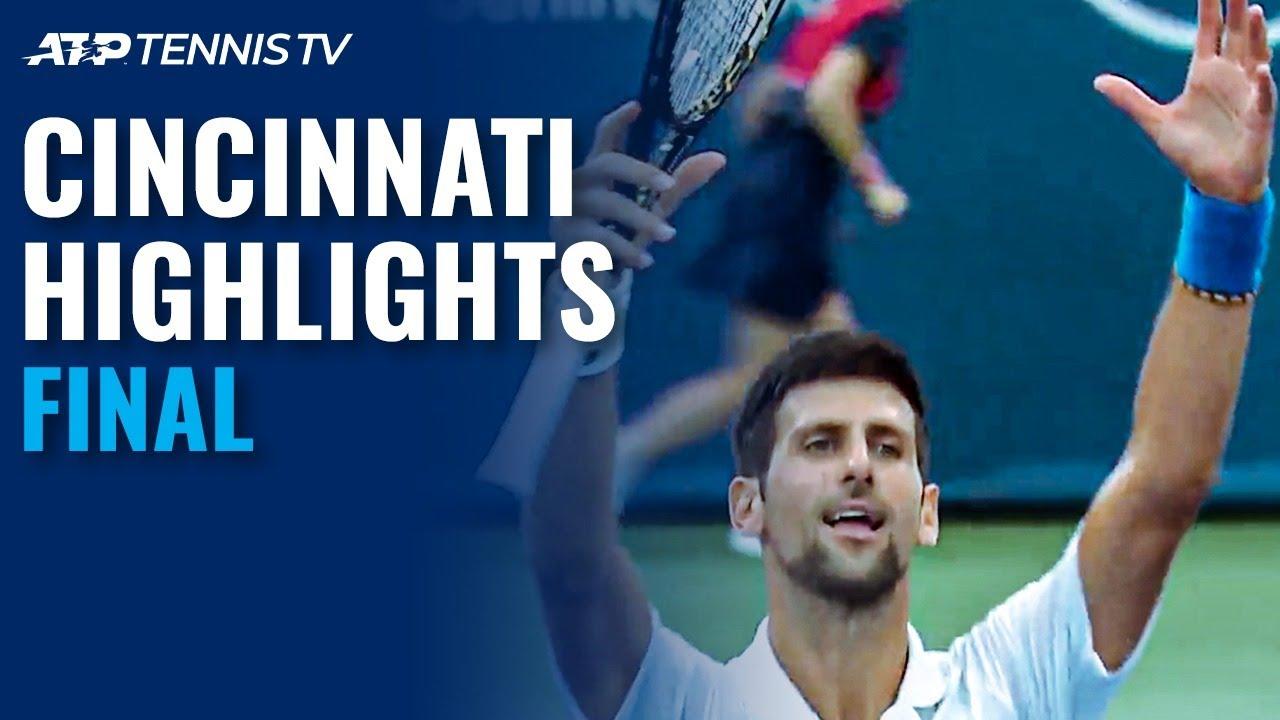 Djokovic Masters Raonic For Cincy Title Cincinnati 2020 Final Highlights Youtube