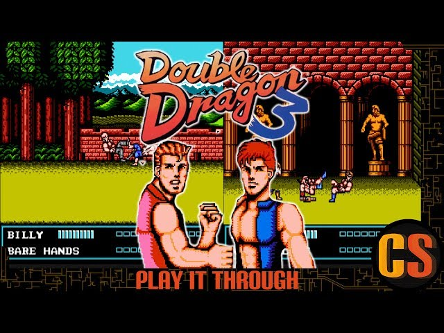 DOUBLE DRAGON 3: THE SACRED STONES - PLAY IT THROUGH