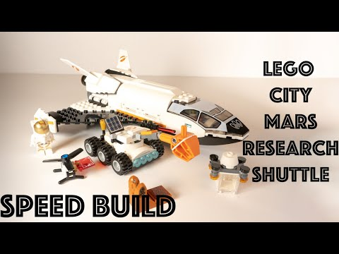 LEGO City Mars Research Shuttle 🚀 60226 Speed Build #legocity