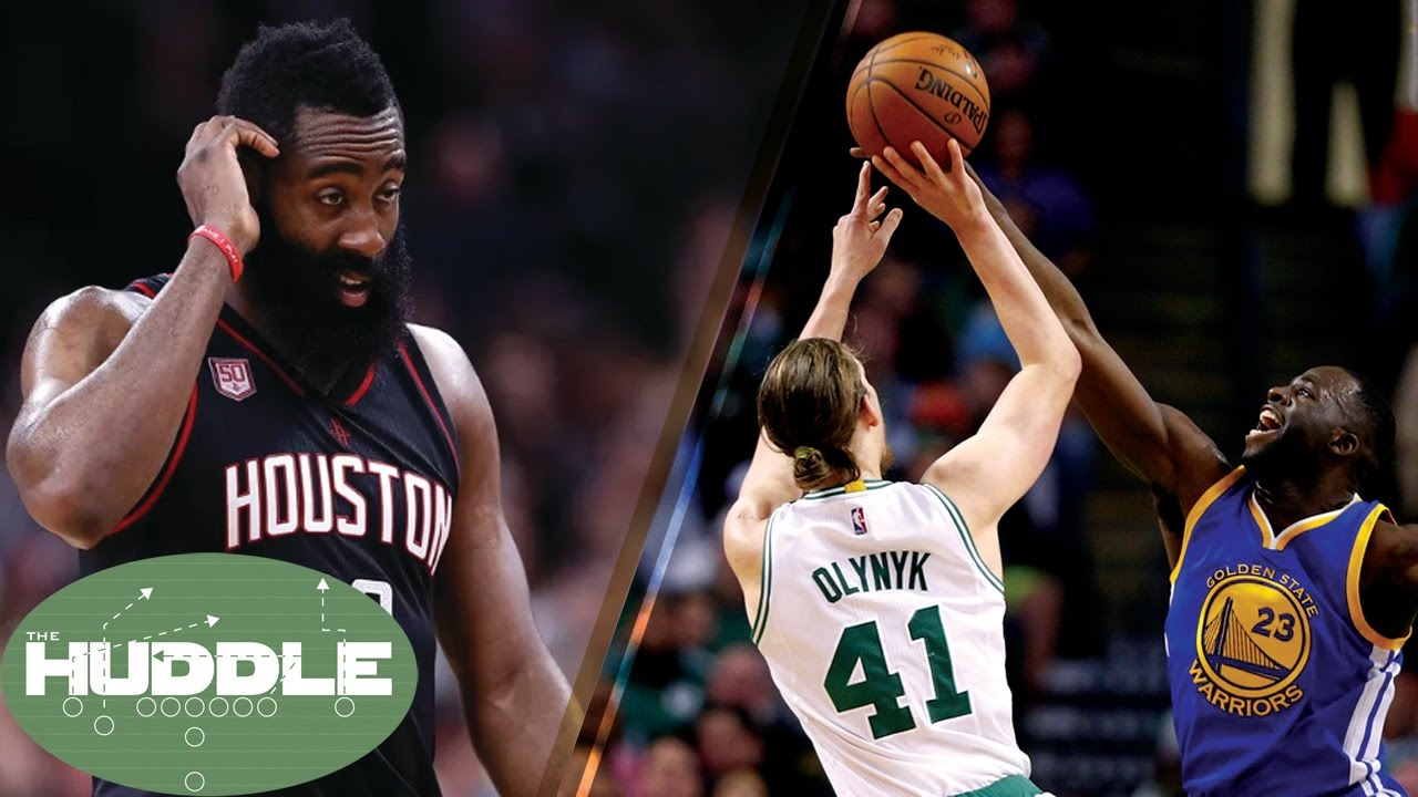 391b38ae7f7c Is James Harden CHOKING vs Spurs  Draymond Green   Isaiah Thomas FIGHT Over  Kelly Olynyk -The Huddle