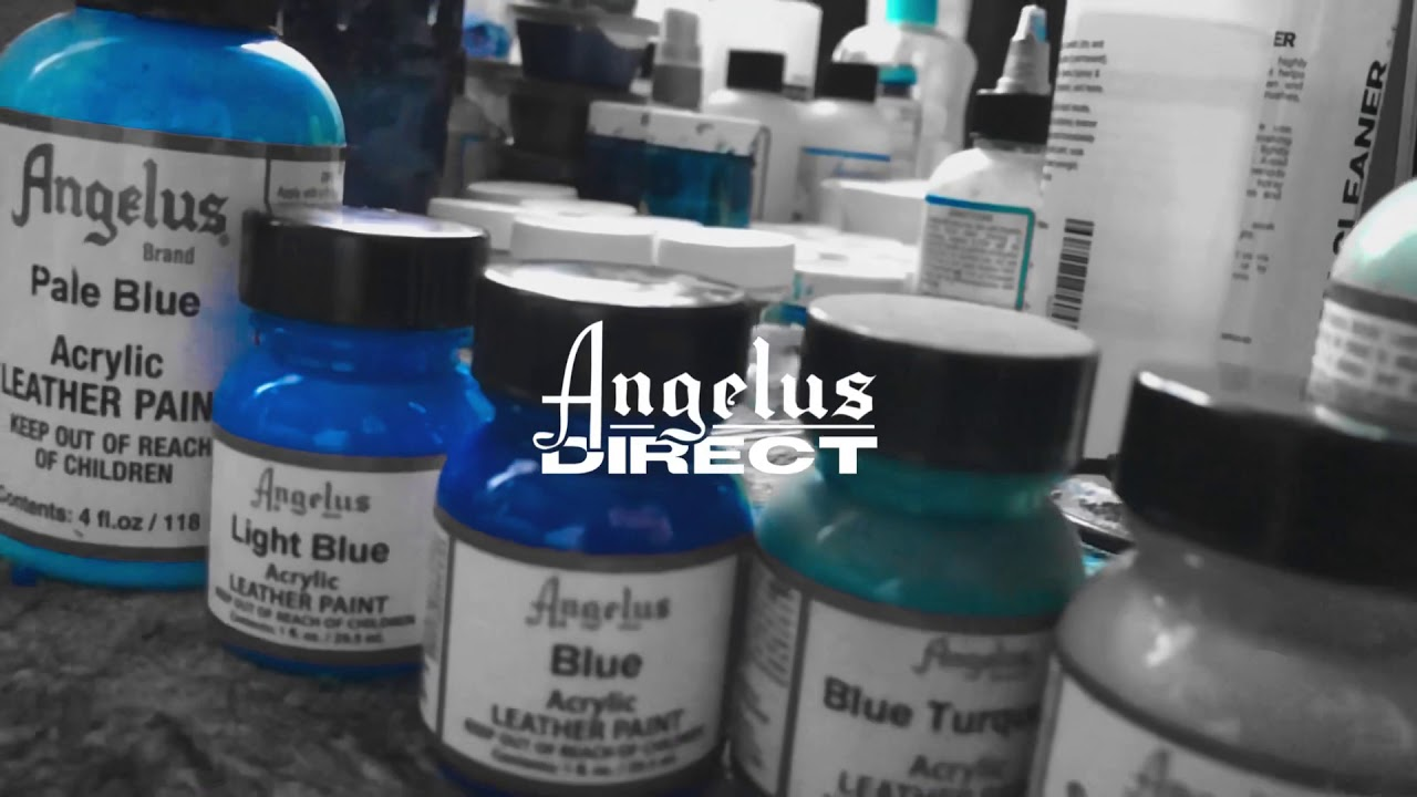 Bizon Customs: #CreateAtHome Project with Angelus Direct and Converse