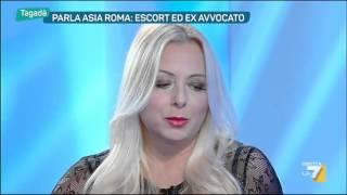 Parla Asia Roma: Escort, sex blogger ed ex avvocato