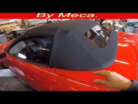How to Install 1994-2004 Corvette Convertible top DIY.