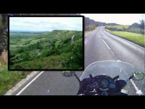 Yorkshire Moors Video Guide North Yorkshire MotorBike Friendly Places Self Guided Tour stage 1