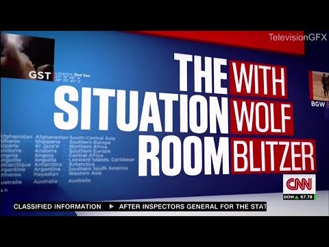 CNN The Situation Room with Wolf Blitzer Open 2015