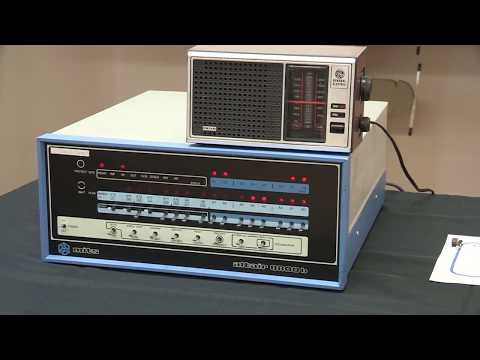 MITS Altair 8800b AM Radio Music Jukebox - New RF Music Played by the Altair