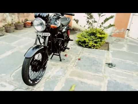 Cafe racer bike indian style