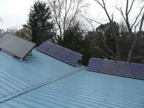 Raleigh Angle Mounted PV Solar Panel Installation - Sun Dollar Energy, LLC