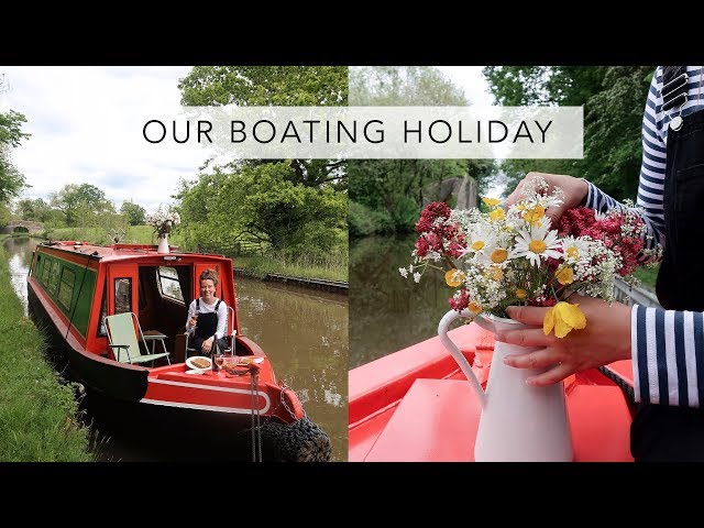 OUR CANAL BOAT HOLIDAY | Vlog | Sofia Clara