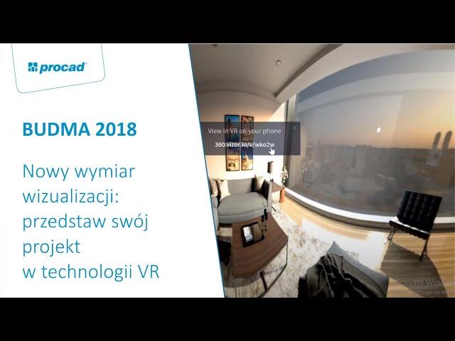 Nowy wymiar wizualizacji przedstaw swój projekt w technologii VR