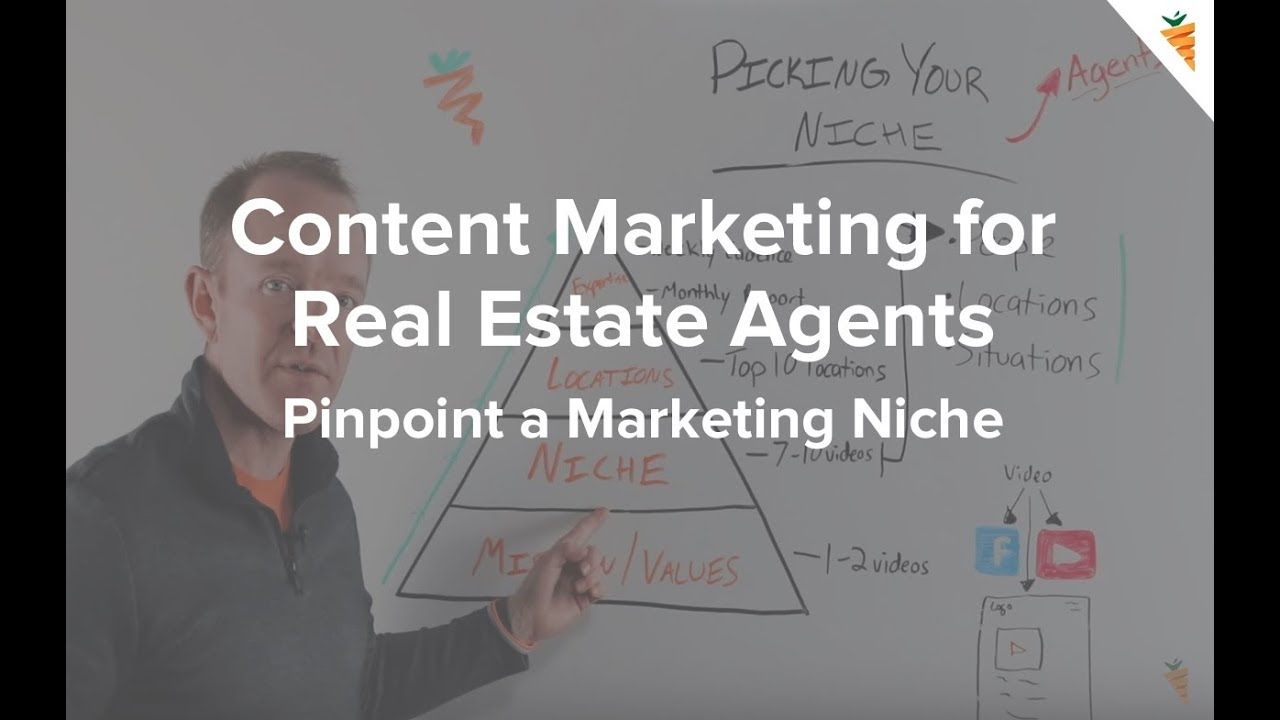 Content Marketing for Real Estate Agents | How to Pick Your Marketing Niche