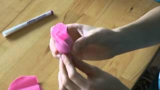 Букет из конфет своими руками. Бутоны роз.