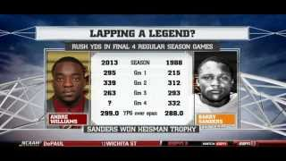 Andre Williams For Heisman on College Football Live 2