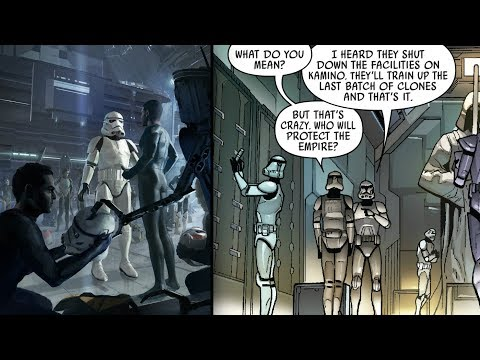 How Clones Reacted to being Replaced by Stormtroopers who were Non-clones - Star Wars Explained