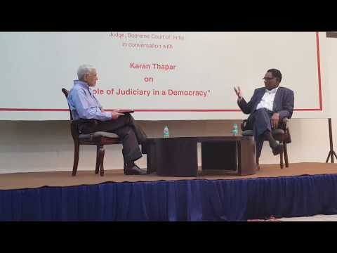 Justice Chelameswar speaks on post retirement, CJI and Judge Loya - Part 1