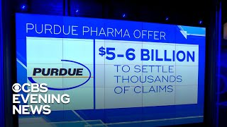 Purdue Pharma offers opioid settlement
