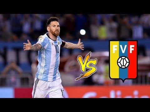 Todos los goles de LIONEL MESSI contra VENEZUELA