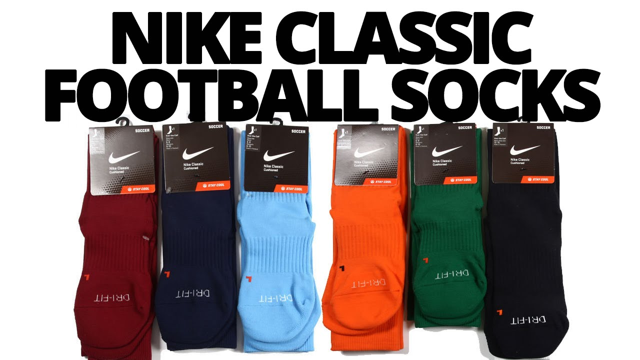 crucero Nos vemos canal  👌 Nike Classic Football/Soccer Socks- Unboxing// Review// Wearing - YouTube