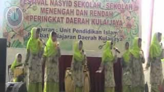 Johan Festival Nasyid Sekolah Rendah Daerah Kulaijaya Tahun 2011 (Lagu 1)