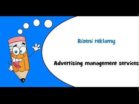 Czech words #Theme = Advertising and marketing services