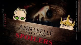ANNABELLE CREATION (2017) - SPOILER FILLED Movie Review HD | Dominique Digital this week