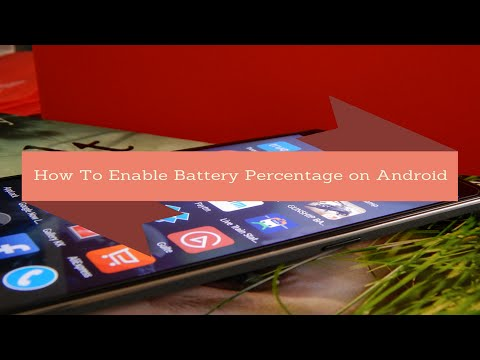 How To Enable Battery Percentage on Android