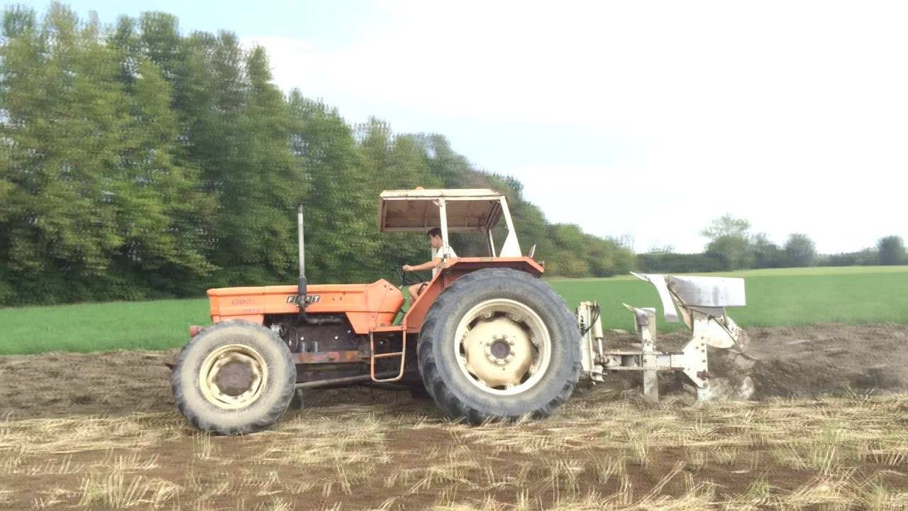 Fiat 1300 dt super hard plowing with er mo fiat 1300 dt for Fiat aratura