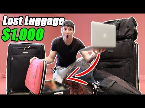 I Bought $1000 Lost Luggage at an Auction and Found This… (B