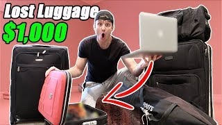 I Bought $1000 Lost Luggage at an Auction and Found This… (Buying Lost Luggage Mystery Auction) thumbnail