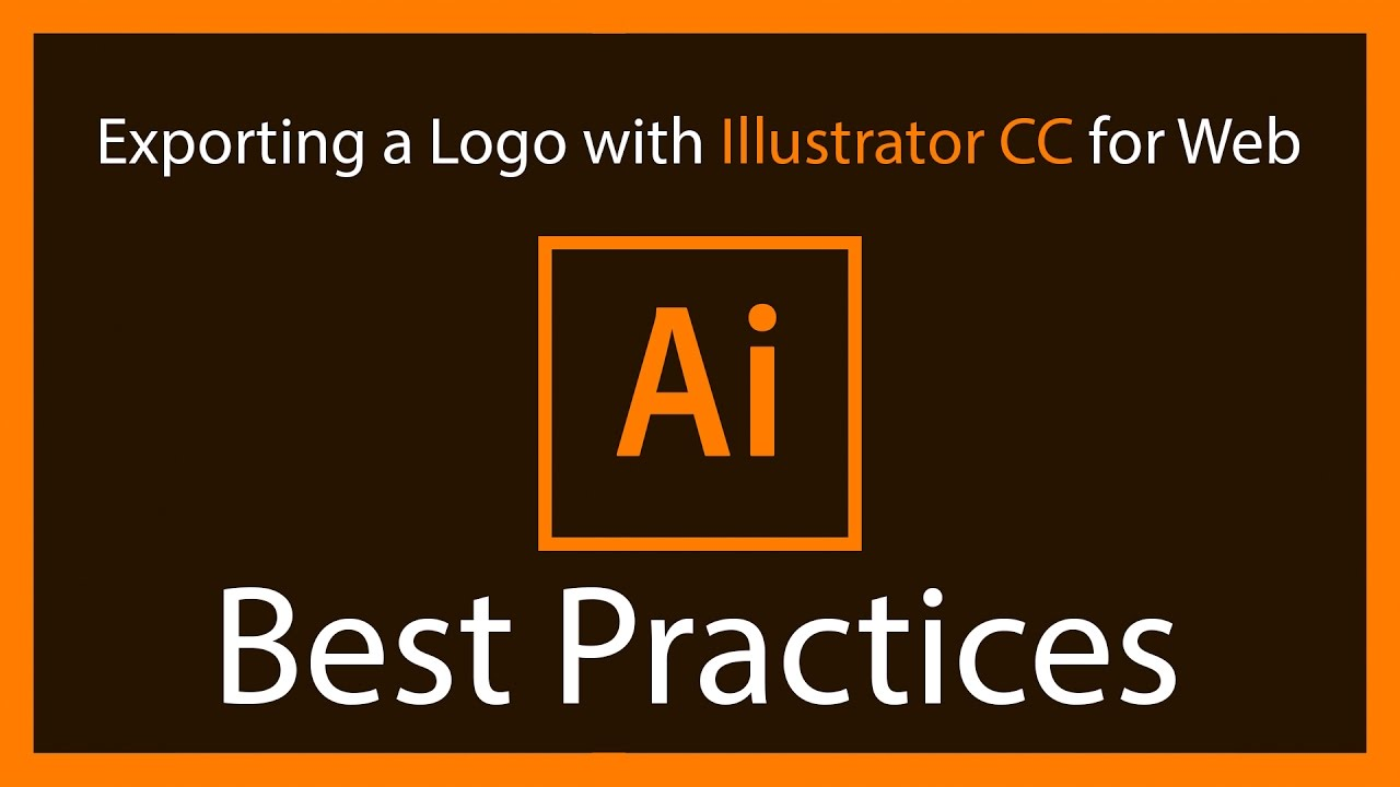 Exporting a Logo with Illustrator CC for Web - Best Practices